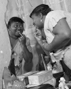 <p>Hattie McDaniel was the first African American woman to win an Academy Award. She won the Oscar in 1940 for her supporting role in <i>Gone with the Wind</i>. Hattie's entire life was aimed at the limelight. In the mid-1920s, she became one of the first black women to appear on the radio with her first film role occurring in 1934. She passed away in October 1952 after a lifetime of acting. <i>[Photo: Instagram/cinenostalgia]</i> </p>