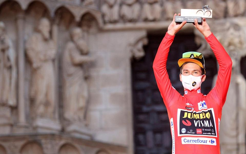 Primoz Roglic - all the latest news and results from the 2021 Vuelta a España - EPA