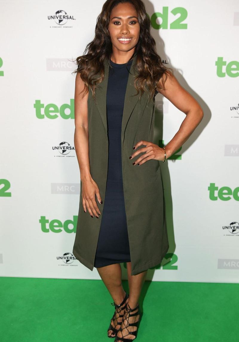 Paulini is currently starring in the musical The Bodyguard. Source: Getty