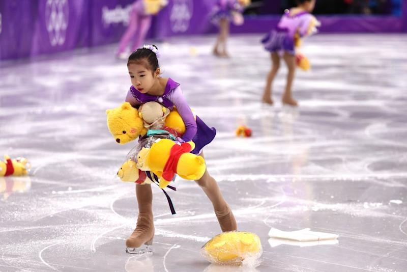Winnie the Pooh makes a flying comeback at the Winter Olympics