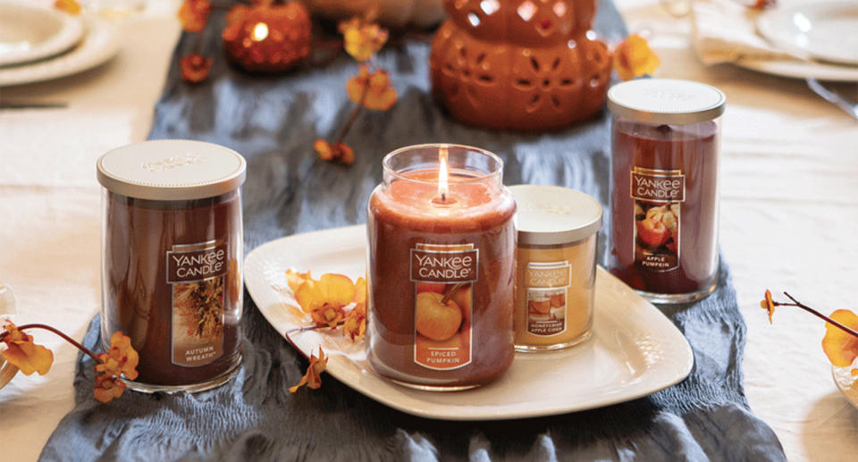 Yankee Candle is offering shoppers the chance to save 30% off of their total purchase until Oct. 18.