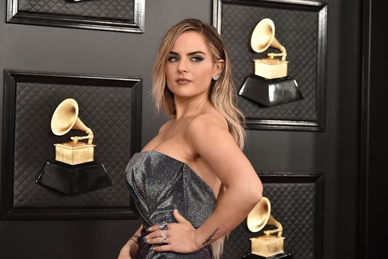 JoJo attends the 62nd Annual Grammy Awards at Staples Center on January 26, 2020 in Los Angeles, CA. (Photo by David Crotty/Patrick McMullan via Getty Images)
