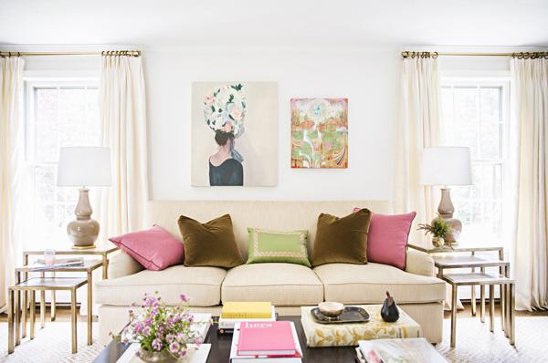 domino 12 (Adult) Ways to Decorate With the Color Pink