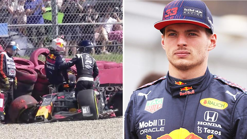 Max Verstappen's brutal British GP crash will set his Red Bull team back nearly two million dollars.