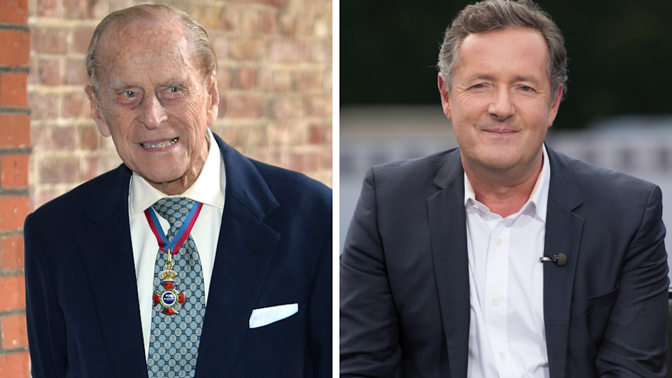 """Piers Morgan has claimed Prince Philip is the """"rudest human he's ever met"""". Source: Getty"""