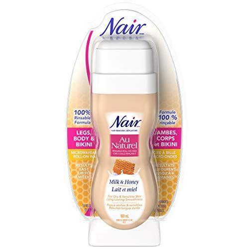"<p><strong>Nair</strong></p><p>amazon.com</p><p><strong>$20.35</strong></p><p><a href=""https://www.amazon.com/dp/B01H06Z8VC?tag=syn-yahoo-20&ascsubtag=%5Bartid%7C10055.g.27119507%5Bsrc%7Cyahoo-us"" rel=""nofollow noopener"" target=""_blank"" data-ylk=""slk:Shop Now"" class=""link rapid-noclick-resp"">Shop Now</a></p><p>The <strong>super-convenient roll-on applicator is the perfect size for applying to underarms for easy hair removal. </strong>Testers said a similar Nair roll-on wax was easy to apply, didn't irritate skin or cause redness. But while the roll-on design is great for stashing in your bag, a few consumers said application was still on the messy side.</p>"