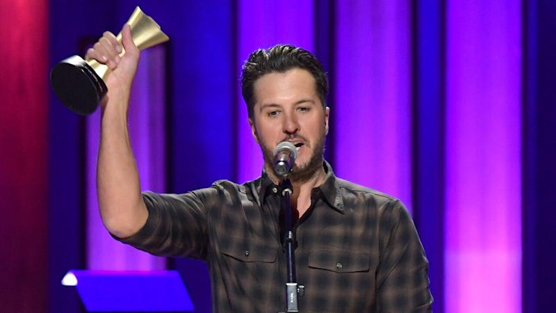 Luke Bryan Wins First-Ever ACM Album of the Decade Award for 'Crash My Party'