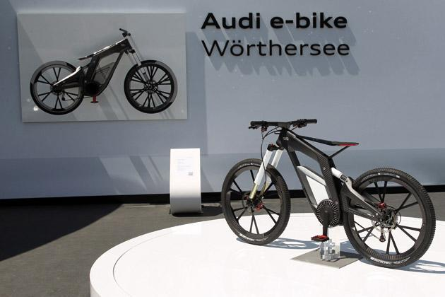 audi e bike a bicycle that runs at 80 kmph. Black Bedroom Furniture Sets. Home Design Ideas