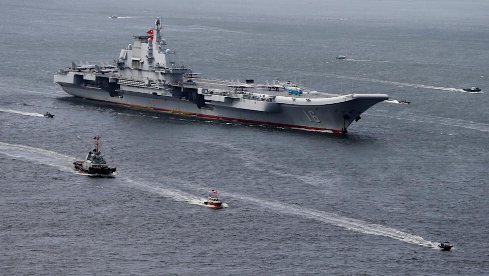Liaoning, China's first aircraft carrier