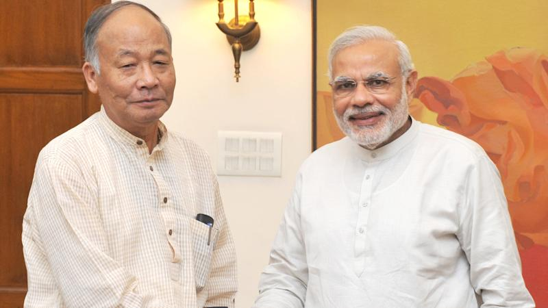 CM Ibobi Attacks Modi Over Comments on Manipur's Economic Blockade
