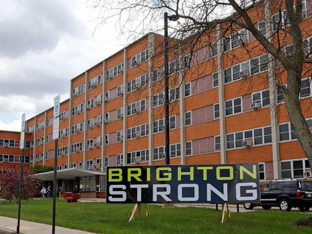 PHOTO: the Brighton Rehabilitation and Wellness Center in Beaver County, Pa. has been sued over allegations that it failed to take basic steps to prevent the spread of the Covid-19 virus, May 12, 2020. (Gene J. Puskar, AP, File)