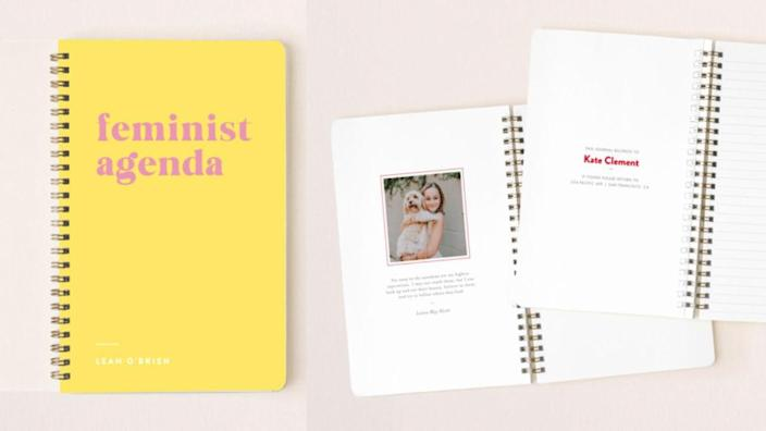 You can also have this notebook made as an address book or planner.