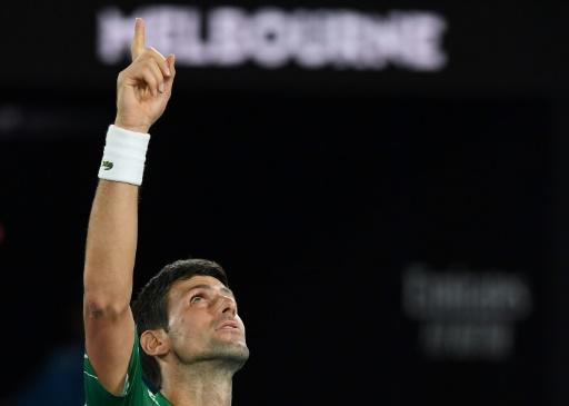 Novak Djokovic is gunning for an eighth Australian Open title