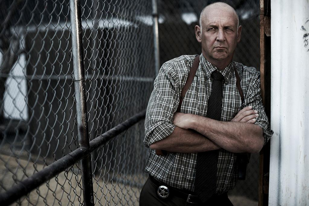 "Nick Searcy stars as Art Mullen in ""Justified."""