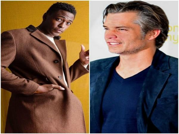 Timothy Olyphant and Justin Cornwell