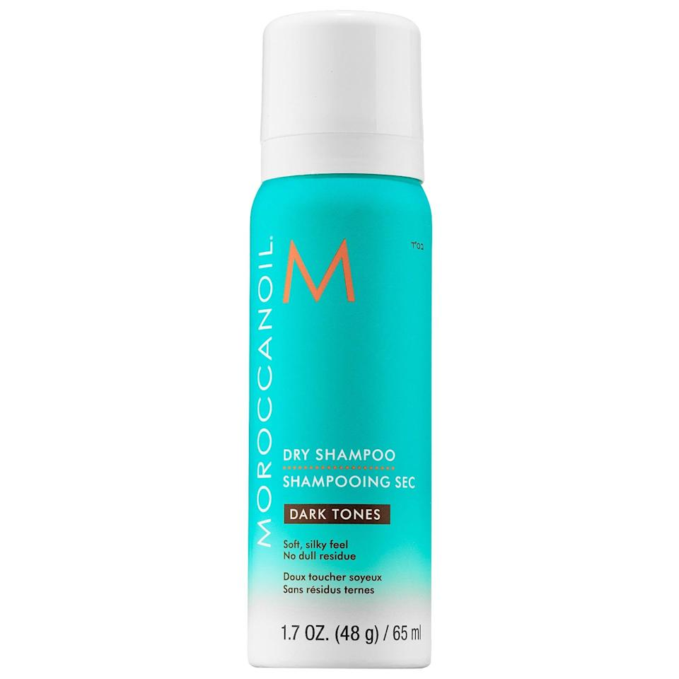 "<p>""A few years ago, I was at the point where I felt like I'd tried every dry shampoo on the market. I had tested out drugstore brands as well as salon-quality formulas, and I was close to concluding that dry shampoo just plain didn't work. That changed the first time I tried <span>Moroccanoil Dry Shampoo Dark Tones Mini</span> ($12). After just one use, I knew I would love the product forever. It didn't weigh my hair down but instead left my hair silky-smooth and soft to the touch. It absorbed quickly and without leaving a white cast, thanks to the darker tint. It also didn't make my hair feel sticky or powdery. It added body to my hair, all while making my hair smell like a combination of musk, vanilla, and citrus."" - Renee Rodriguez, contributor, beauty</p>"