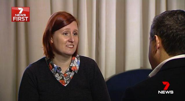 Programme manager Gabriella Holmes said there is hope for all young people. Source: 7 News