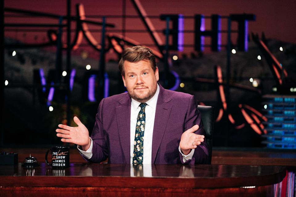 "James Corden hosts ""The Late Late Show."" (Photo: Terence Patrick/CBS via Getty Images)"