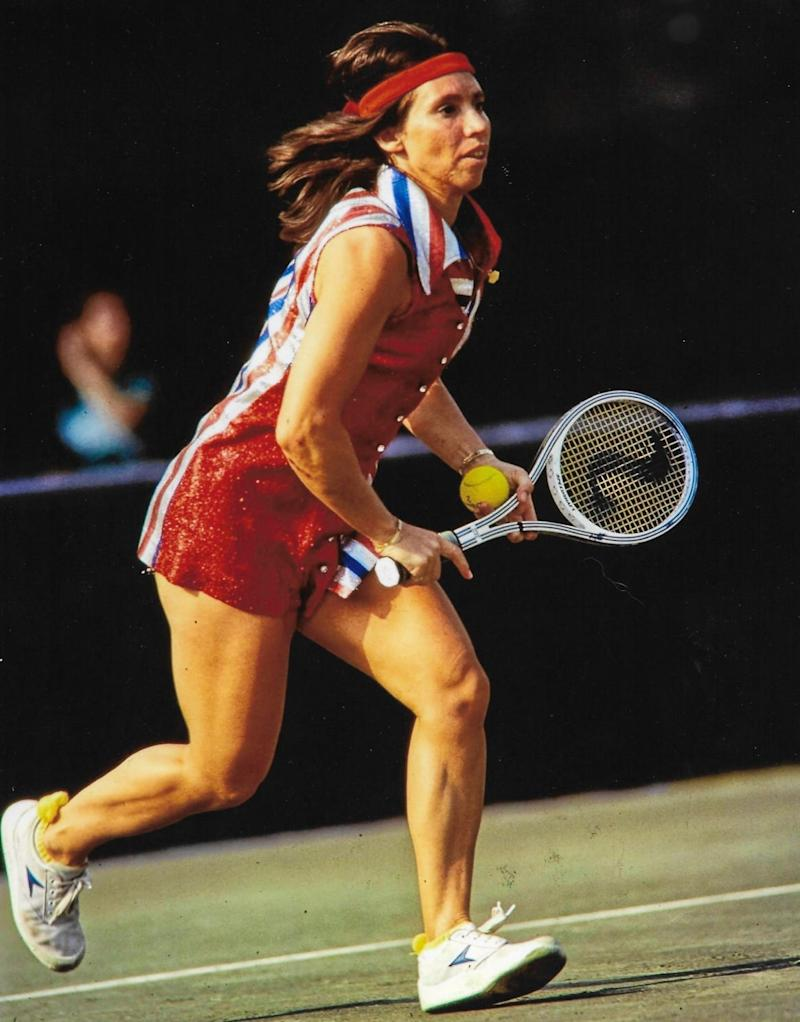 Rosie Casals, an 8-time Grand Slam doubles champion, was among the more vocal members of the Original 9.