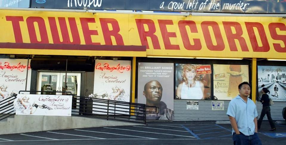 After having to shut down most of its stores worldwide, Tower Records is reinventing itself as a website.