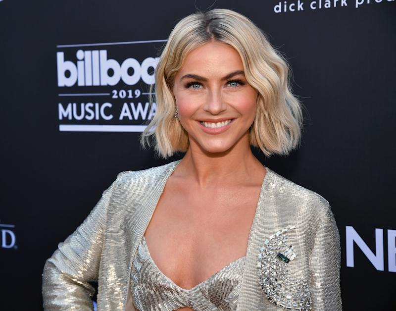 LAS VEGAS, NV - MAY 01: Julianne Hough attends the 2019 Billboard Music Awards at MGM Grand Garden Arena on May 1, 2019 in Las Vegas, Nevada. (Photo by Jeff Kravitz/FilmMagic for dcp)