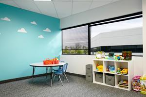 InBloom Autism Services Chandler Learning Center therapy room