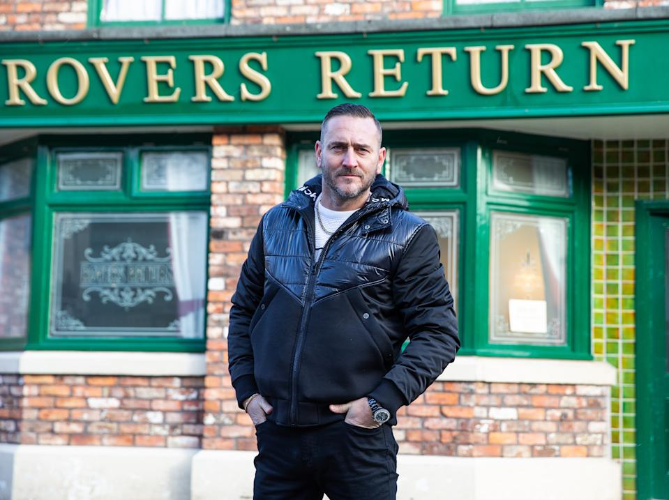 Will Mellor will play drugs boss Harvey in Corrie. (ITV)