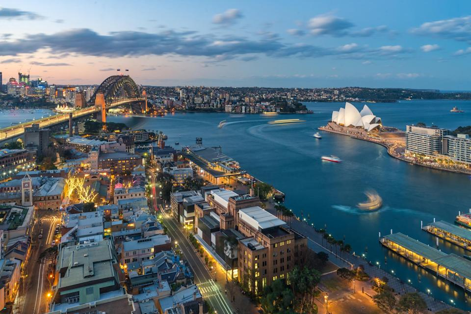 Downtown Sydney. <i>Photo: Getty</i>