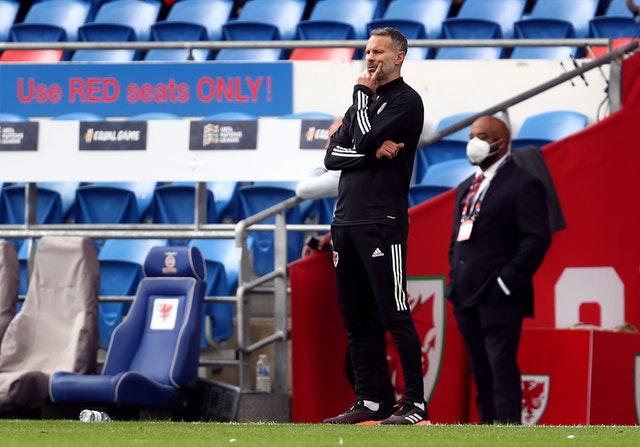 Wales manager Ryan Giggs saw his side win both of their League B fixtures