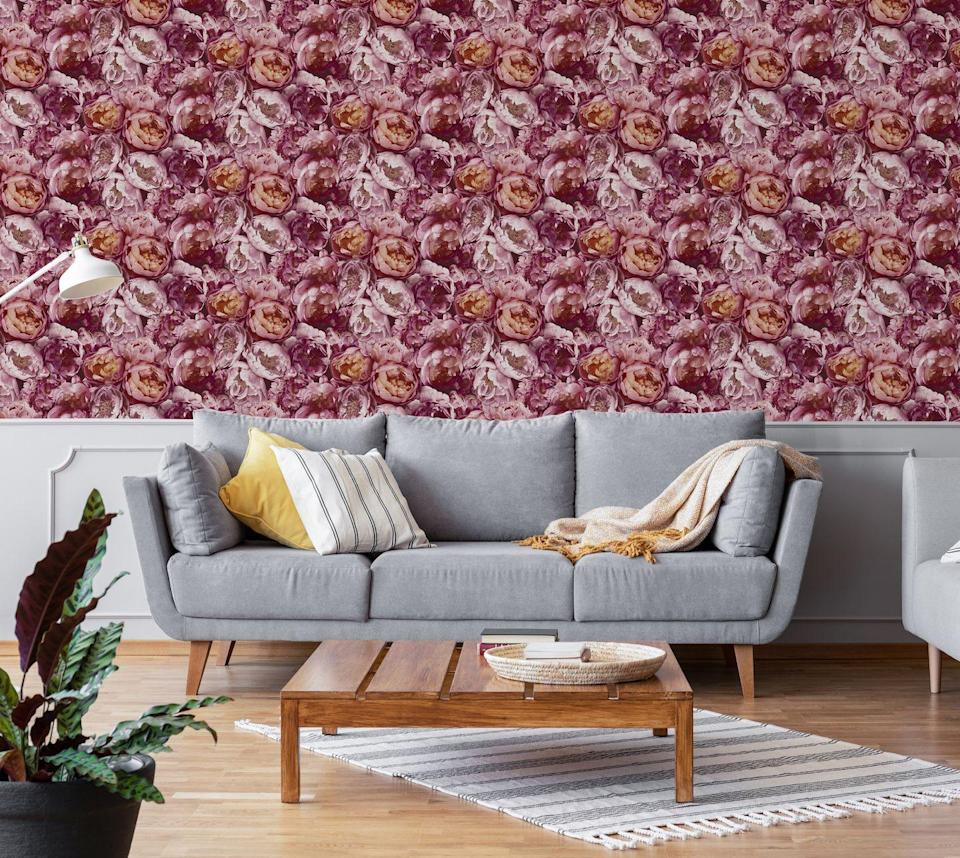 "<p><strong>Blooming Pink Pop Wallpaper, £40</strong></p><p><a class=""link rapid-noclick-resp"" href=""https://go.redirectingat.com?id=127X1599956&url=https%3A%2F%2Fwww.homebase.co.uk%2Fhouse-beautiful-blooming-pink-pop-wallpaper%2F12945377.html&sref=https%3A%2F%2Fwww.redonline.co.uk%2Finteriors%2Feasy-to-steal-ideas%2Fg36273018%2Fhomebase-wallpaper%2F"" rel=""nofollow noopener"" target=""_blank"" data-ylk=""slk:BUY NOW"">BUY NOW</a></p>"