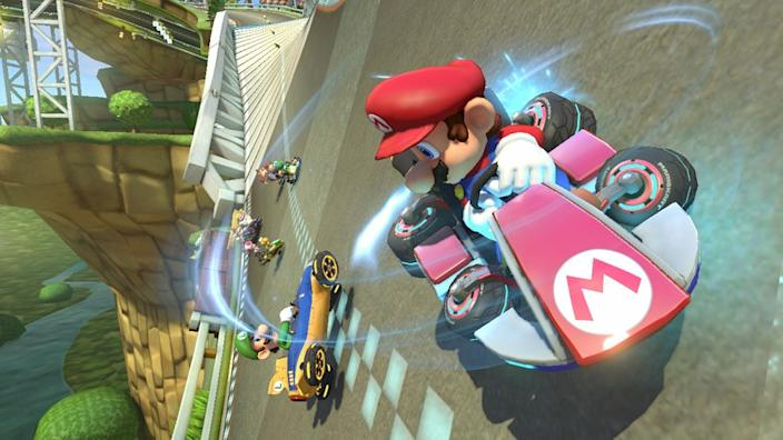"""Games from the """"Mario Kart"""" series were a popular choice among many a developer."""