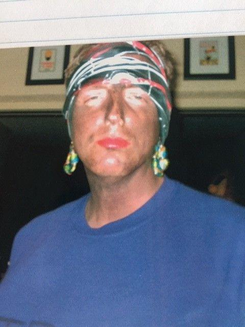 Florida Secretary of State Mike Ertel, then Seminole County Supervisor of Elections, in blackface at 2005 Halloween party.
