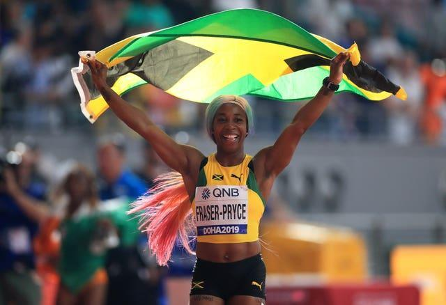 Shelly-Ann Fraser-Pryce is Dina Asher-Smith's biggest rival