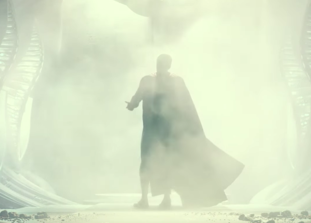 Superman in a deleted scene from <i>Justice League</i> (Photo: Warner Bros.)