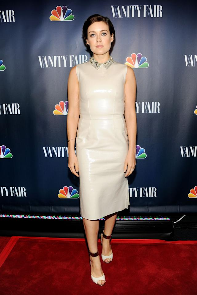 NEW YORK, NY - SEPTEMBER 16: Actress Megan Boone attends NBC's 2013 Fall Launch Party Hosted By Vanity Fair at The Standard Hotel on September 16, 2013 in New York City. (Photo by Ben Gabbe/Getty Images)