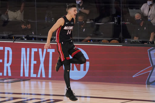 Herro's rise for Heat has come fast, sparked by hard work