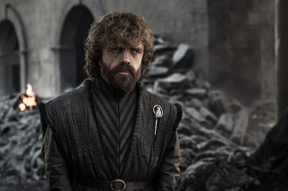 """Of all the hot takes about the """"Game of Thrones"""" ending, none will be hotter than that of Tywin Lannister, whose worst nightmare comes true in the finale:<br /><br />Tyrion is what's left of the legacy of House Lannister.<br /><br />He started out on the show drinking and knowing things, but as time went on he seemed to do less and less of both. Tyrion's character was one of the biggest victims after the show surpassed George R.R. Martin's books around Seasons 5 and 6. Over the final seasons of the show, he continually made poorer and poorer decisions, even to the point where he trusted his sister Cersei (Lena Headey) to send the Lannister army north to fight the undead.<br /><br />However, like so many white guys before him, Tyrion failed up. Despite all his bad decision making over the final seasons of the show, Tyrion ended with a cushy office job, Hand of the King to Bran."""