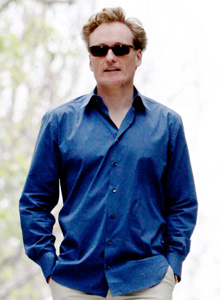 "Conan O'Brien has apparently adjusted to living in LA, attending a party at Tobey Maguire's Malibu home last weekend. The comedian will replace Jay Leno as the host of ""The Tonight Show"" on June 1. O'Brien will also serve as the final guest on Leno's May 29 finale. <a href=""http://www.x17online.com"" target=""new"">X17 Online</a> - May 9, 2009"