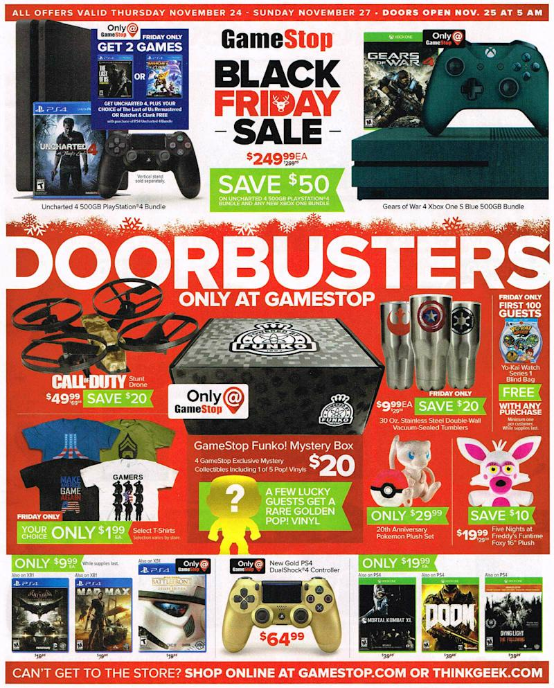 Gamestop black friday deals 2018 leaked