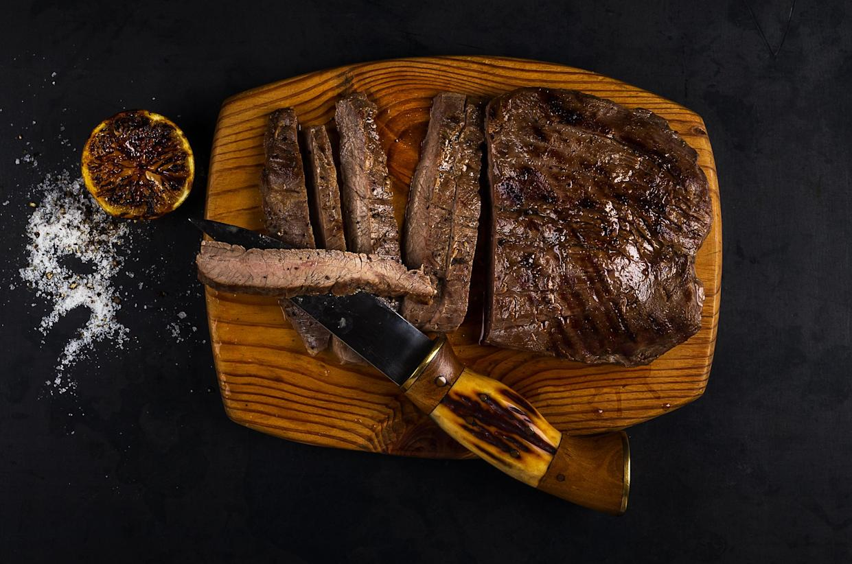 Well-done steak should be cooked to an internal temperature of about 160 degrees.  (Getty Images)