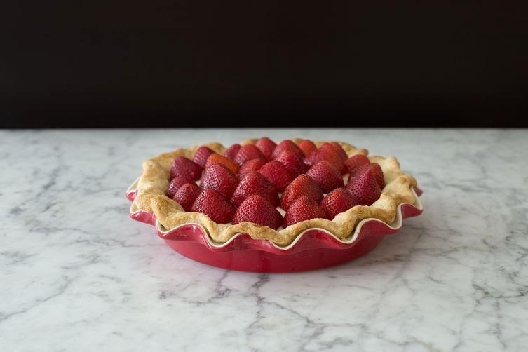 Strawberries and Cream Pie on Food52