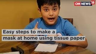 DIY: Make Your Own Face Mask Using A Tissue Paper | News18
