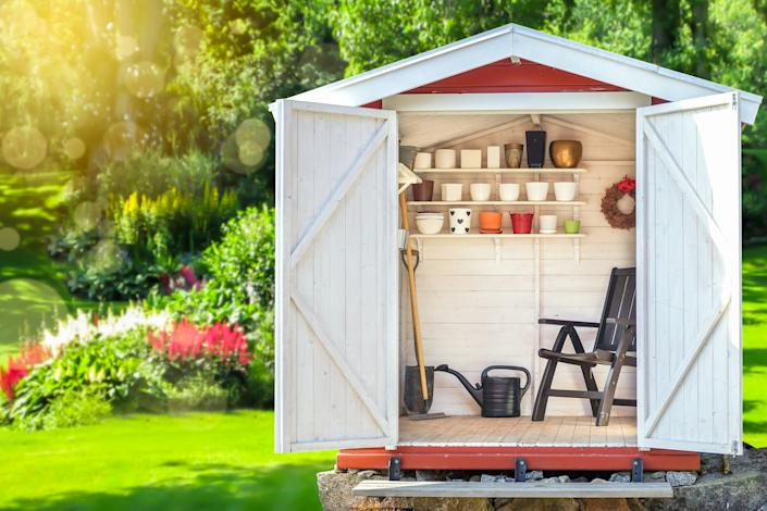 Adding a shed to your outdoor space can be lucrative. (Getty Images)