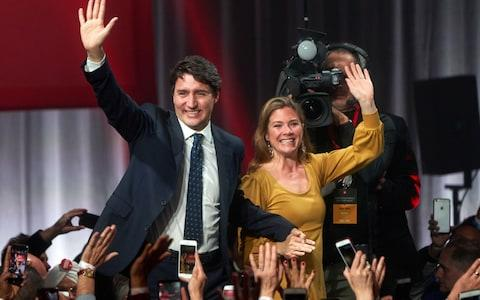 Liberal Party leader Justin Trudeau - Credit: REX