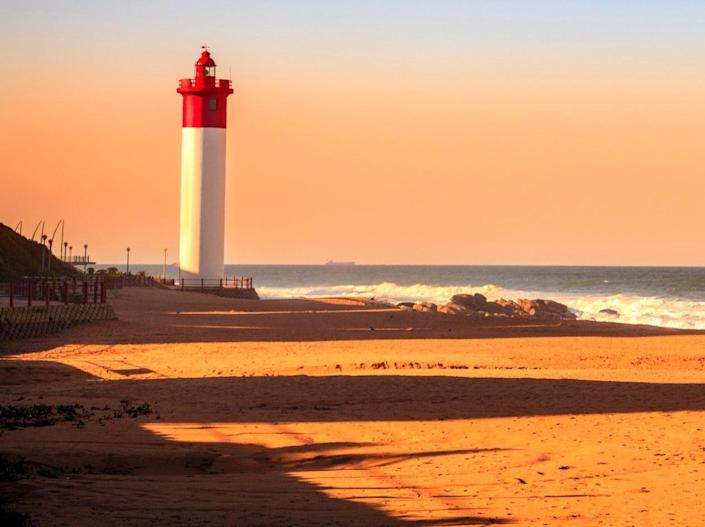 Durban's beaches attract surfers (Getty Images/iStockphoto)