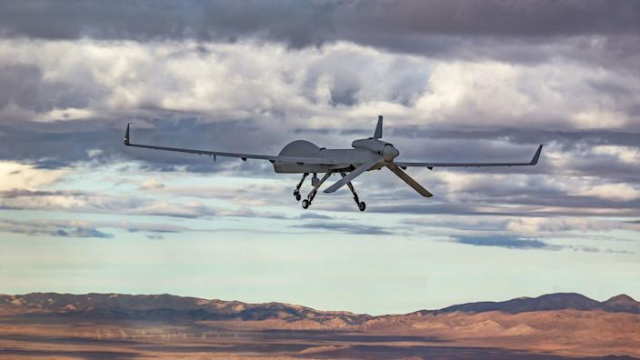 The Gray Eagle Extended Range is a next-generation advanced derivative of the battle-proven Gray Eagle Unmanned Aircraft System. (Photo: Courtesy of General Atomics Aeronautical Systems)