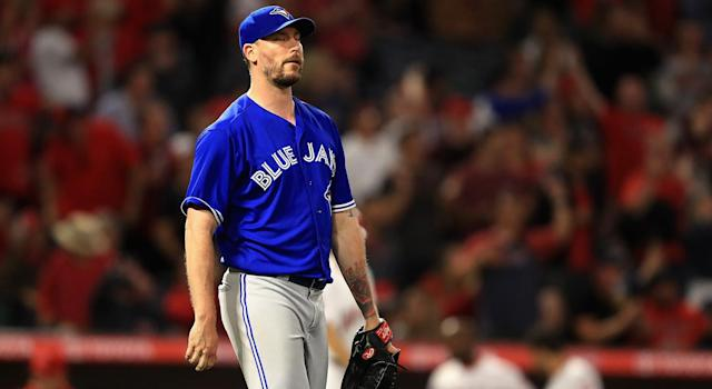 John Axford is now a member of the L.A. Dodgers. (Sean M. Haffey/Getty Images)