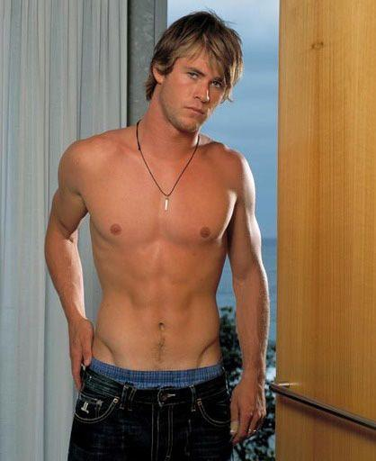 Chris Hemsworth as Kim Hyde on 'Home and Away.' Credit: Channel 7