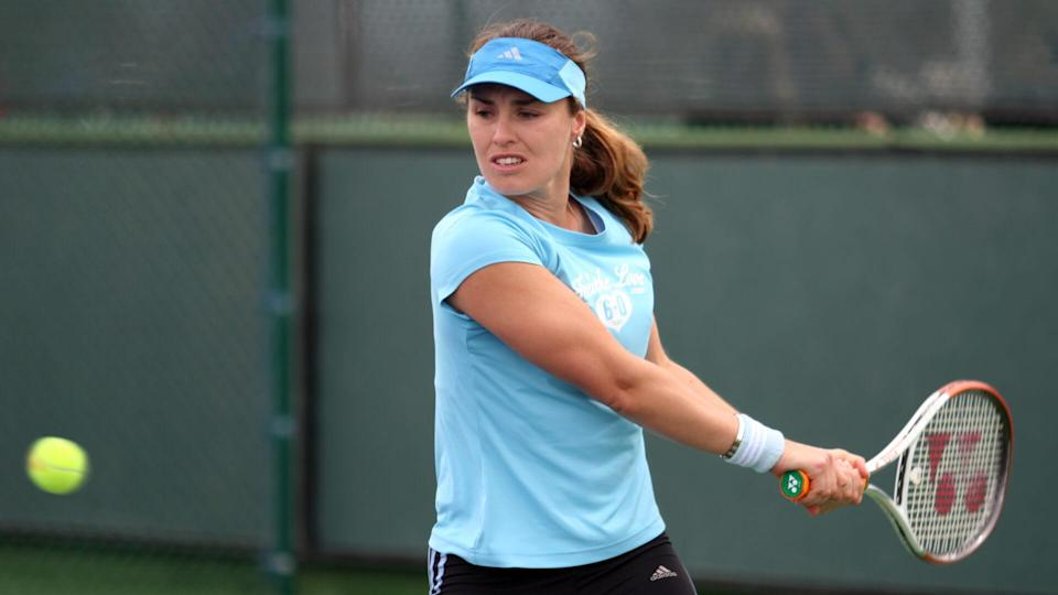 """<p><span>Martina Hingis entered one of the most saturated fields in the history of women's tennis during the talent glut of the late 1990s. The roster included the likes of Jennifer Capriati, Monica Seles, and Steffi Graf, according to ITHOF. Even so, Hingis emerged as a talent among talents, winning 114 career titles. The first major title came when she was just 15 years, nine months old with a doubles championship at Wimbledon — she remains the youngest titlist in history.</span></p> <p><a href=""""https://www.gobankingrates.com/net-worth/sports/what-is-martina-hingis-net-worth/?utm_campaign=1130237&utm_source=yahoo.com&utm_content=13&utm_medium=rss"""" rel=""""nofollow noopener"""" target=""""_blank"""" data-ylk=""""slk:See what her net worth adds up to."""" class=""""link rapid-noclick-resp"""">See what her net worth adds up to.</a></p> <p><em><strong>See: </strong></em><em><strong><a href=""""https://www.gobankingrates.com/net-worth/sports/richest-nfl-team-owners/?utm_campaign=1130237&utm_source=yahoo.com&utm_content=14&utm_medium=rss"""" rel=""""nofollow noopener"""" target=""""_blank"""" data-ylk=""""slk:The 25 Richest NFL Team Owners"""" class=""""link rapid-noclick-resp"""">The 25 Richest NFL Team Owners</a></strong></em></p> <p><small>Image Credits: Galina Barskaya / Shutterstock.com</small></p>"""