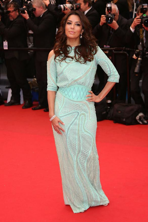 Eva Longoria Flashes Lady Parts At Cannes Again? Star Avoids Wardrobe Malfunction After Red Carpet Exposure